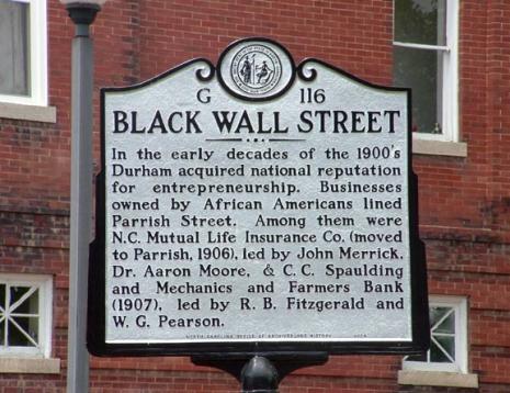 Durham NC - Black Wall Street