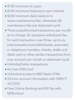 Statement Savings